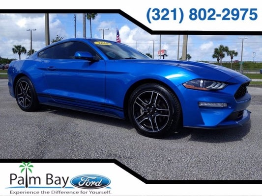 Palm Bay Ford >> 2019 Ford Mustang Ecoboost Premium In Palm Bay Fl Palm Bay Ford