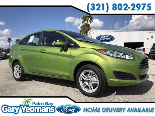 Palm Bay Ford >> 2019 Ford Fiesta Se