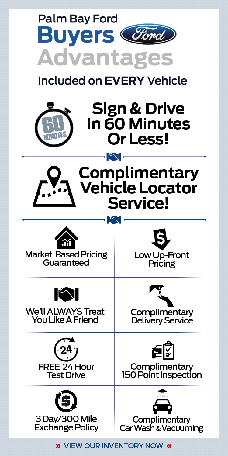 Palm Bay Ford >> Buyers Advantages At Palm Bay Ford